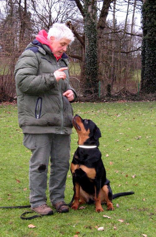 Heidi mit Eyka v. Norderdiek