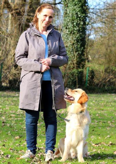 Karin mit Layla`s Der Lucky of Clashorn