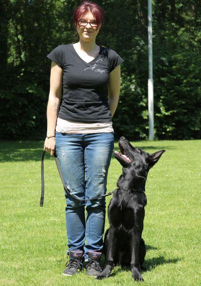 Sandra mit Veroxs v. Schmiedegarten